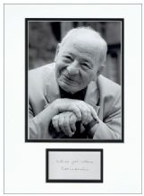 Colin Dexter Autograph Signed Display